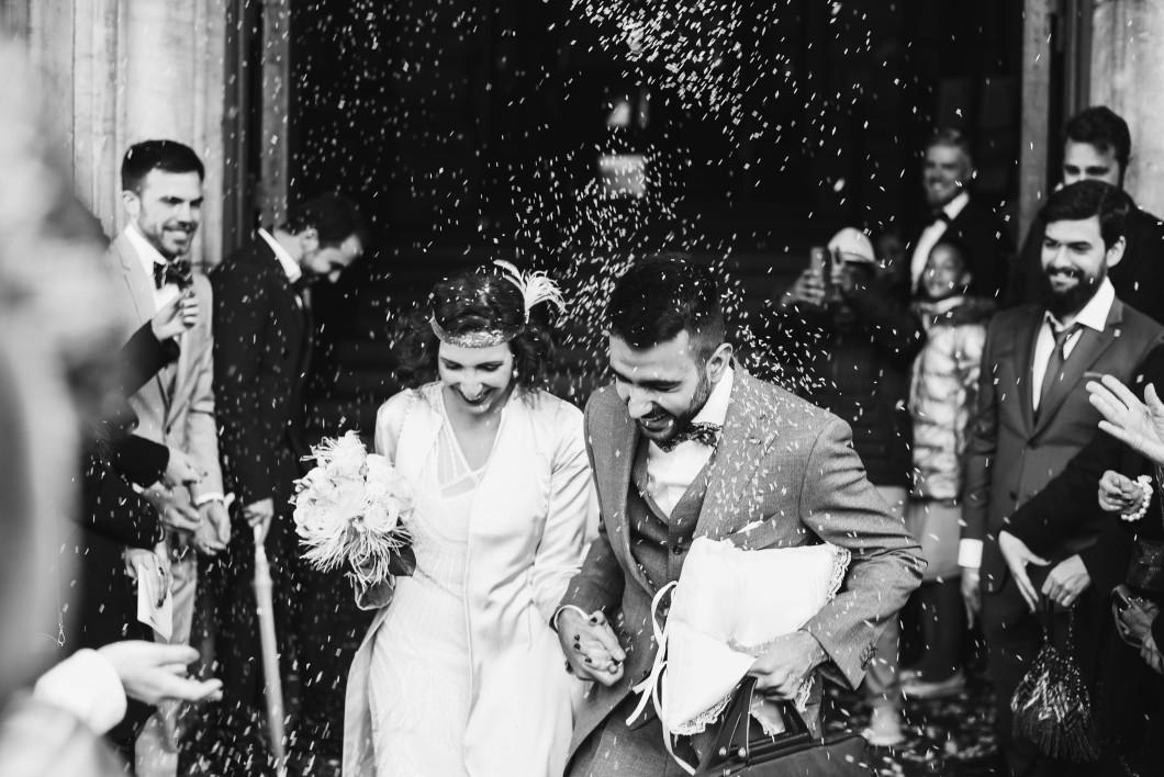 Mariage année 20 -1920 theme - Gatsby inspiration - Château d'Enghien - photographe