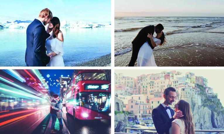 séances photos à l'étranger - wedding destination image